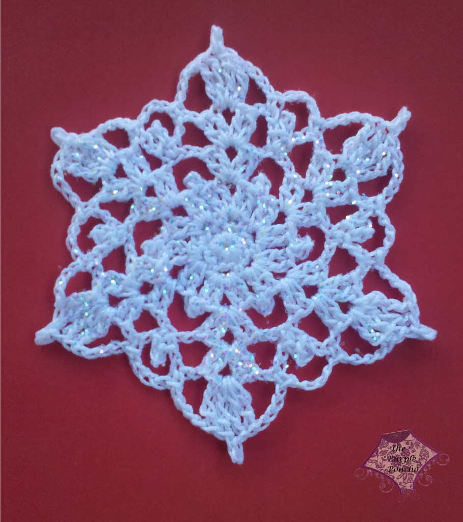 Crochet Snowflake Patterns Free Easy : Crochet Snowflake ? The Purple Poncho
