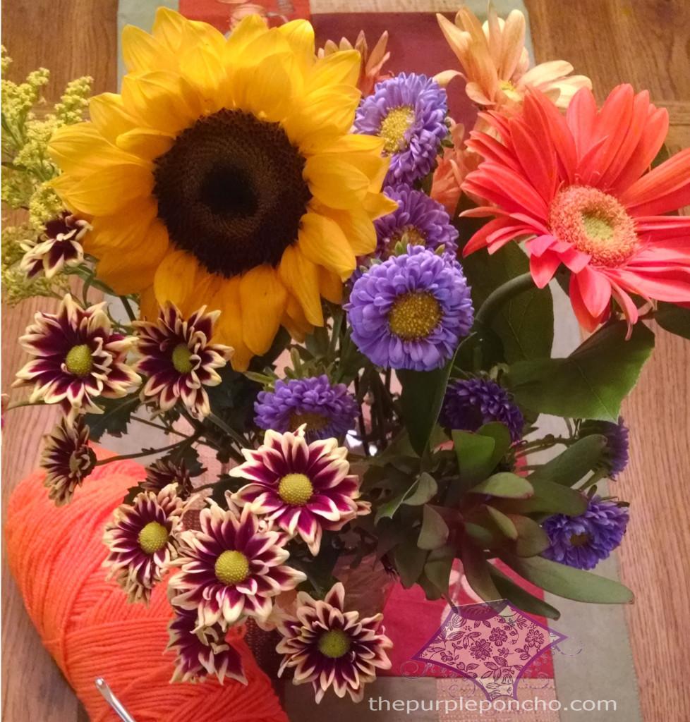 Fall Flowers - The Purple Poncho