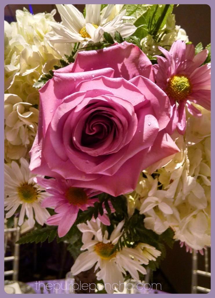 Floral Centerpiece The Purple Poncho 11152014