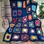 Bohemian Oasis Crochet Mood Blanket