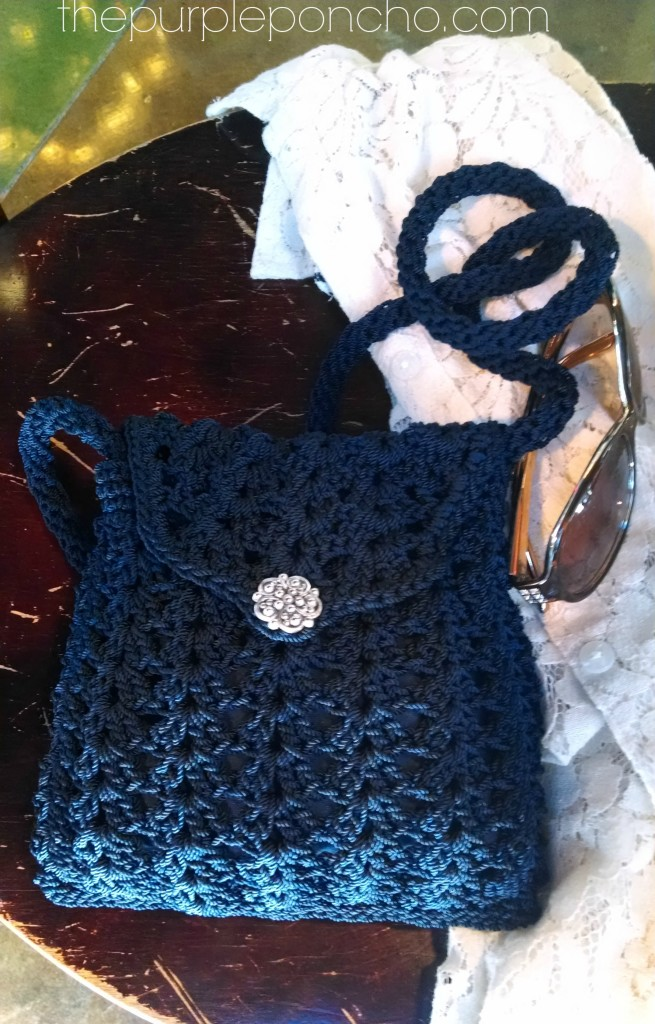 Crochet Crossbody Bags Amp Purses The Purple Poncho