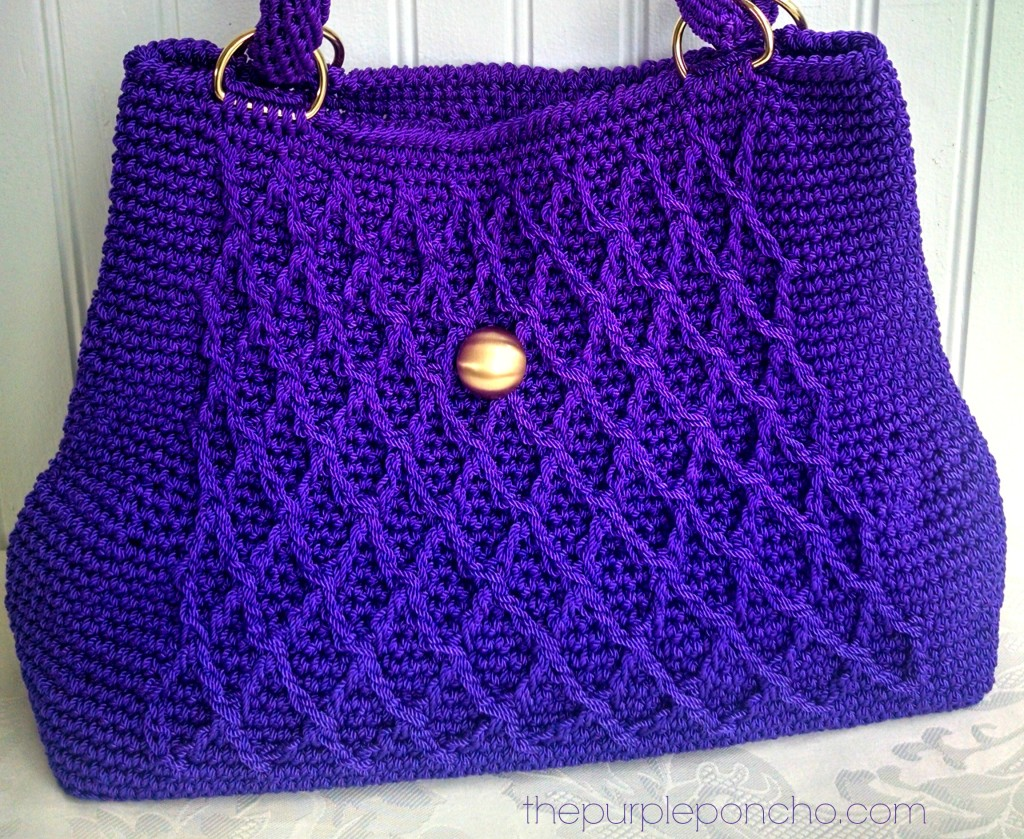 Crochet Crossbody Bag Pattern : Crochet Crossbody Bags & Purses - The Purple Poncho