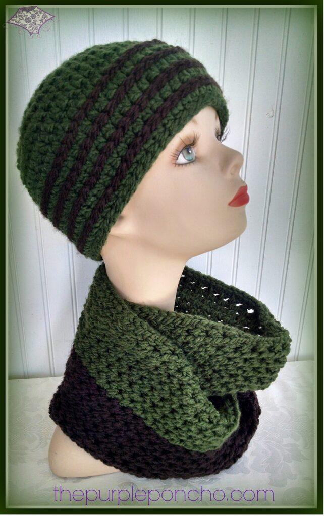 Free Crochet Pattern Scarf Hat : Favorite Hat & Scarf Set ? Two Free Crochet Patterns ? The ...