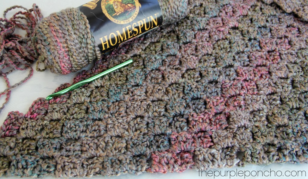 Funky Homespun Crochet Patterns Gallery Easy Scarf Knitting