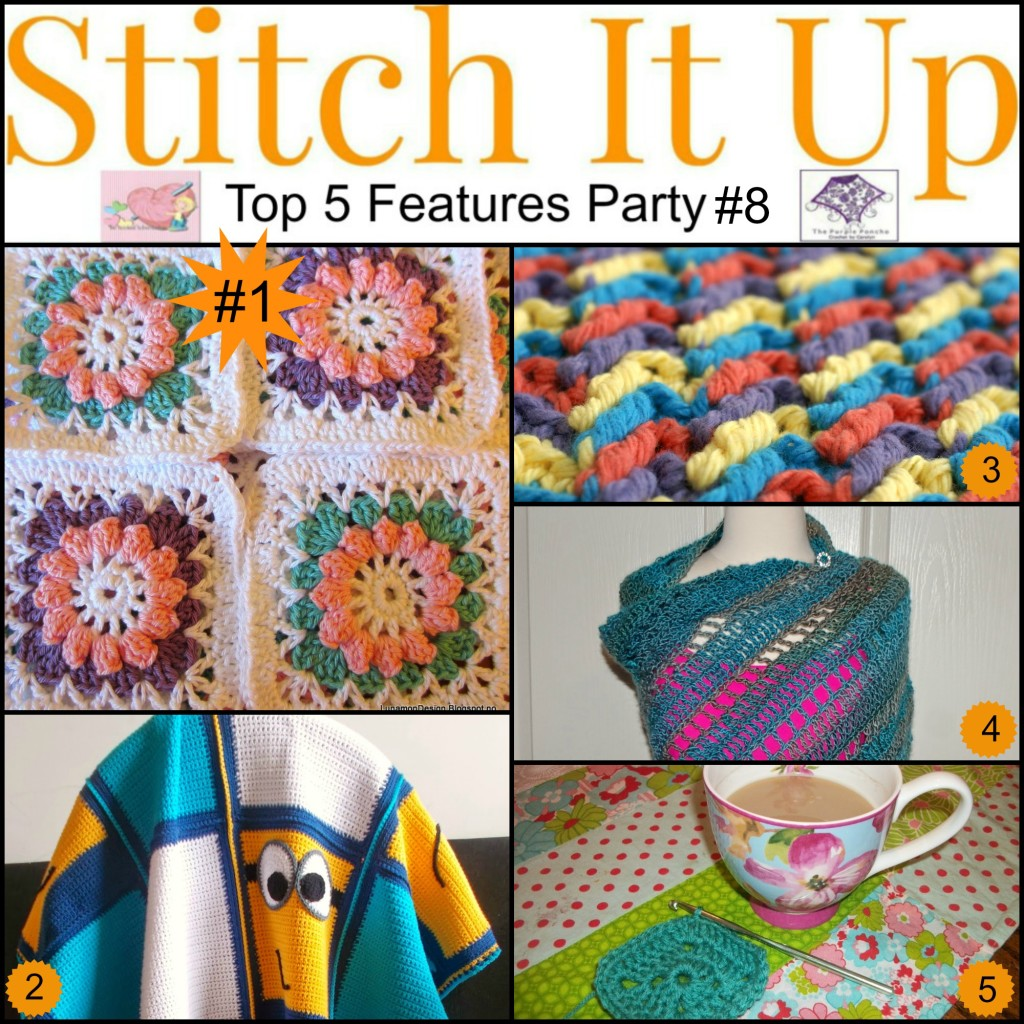 Featured on Stitch It Up #9