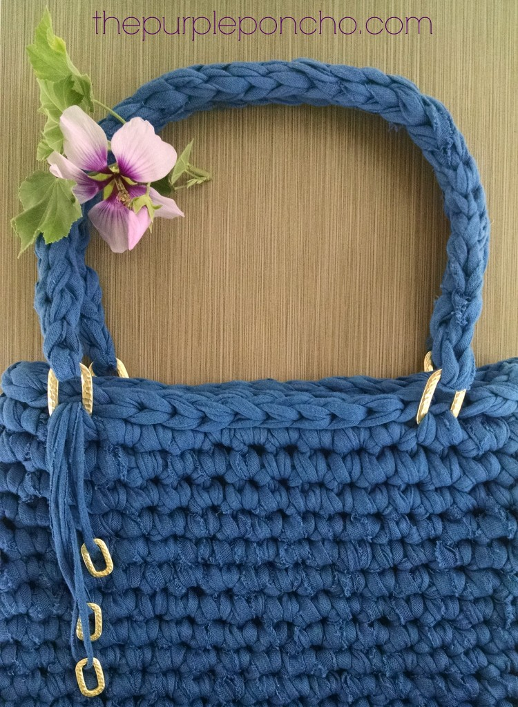 Island Breeze Bag A Free Crochet Pattern by The Purple Poncho