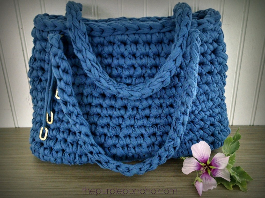 Free Crochet Purse Patterns : beach bag or a project bag here we go