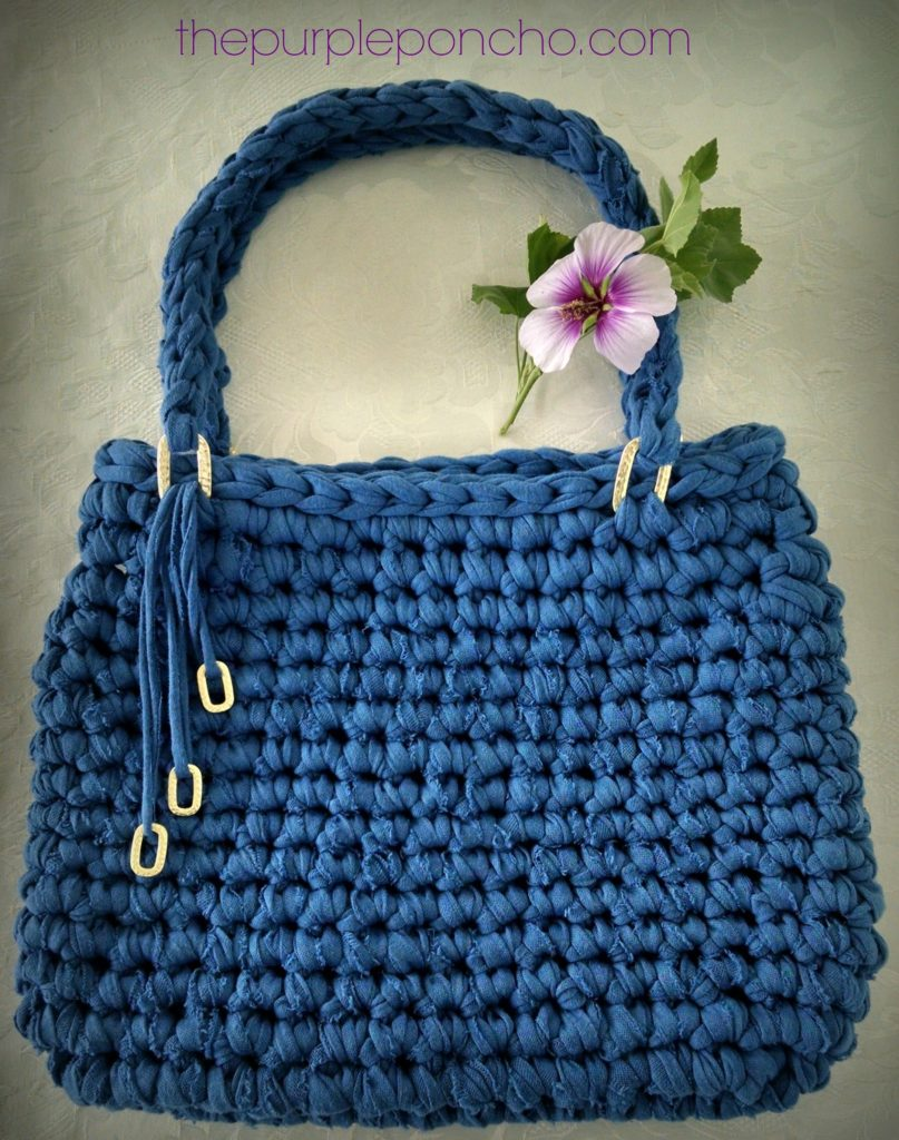 Island Breeze Bag Free Pattern by The Purple Poncho