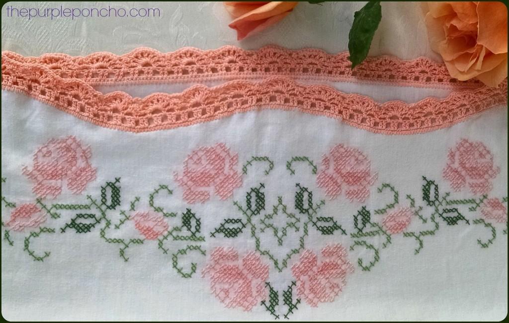 Vintage Fan Crochet Edging A Free Pattern The Purple