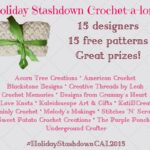 Announcing the Holiday Stashdown Crochet-A-Long 2015