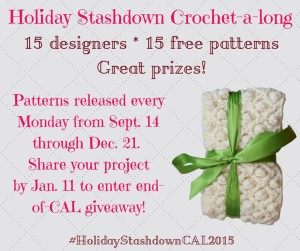 HolidayStashdownCAL2015 Giveaway Dates