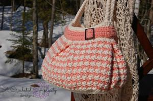 Houndstooth Handbag