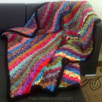 Crochet Corner-to-Corner Scrap Yarn Blanket – Free Pattern