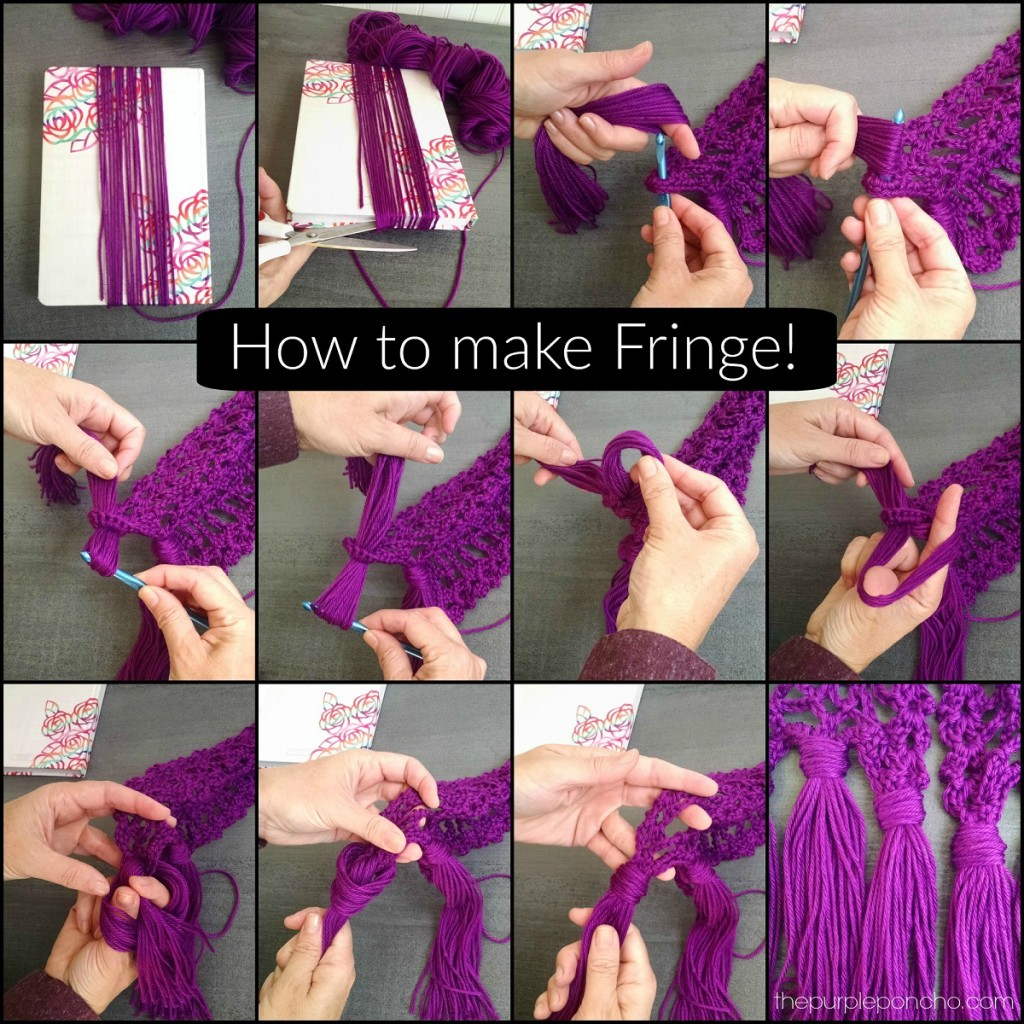 How to Make Fringe by The Purple Poncho