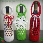 Festive Bottle Cozy – A Free Crochet Pattern