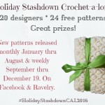 Holiday Stashdown Crochet-A-Long 2016