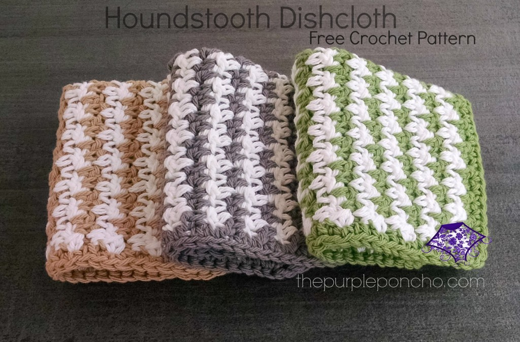 Houndstooth Dishcloths