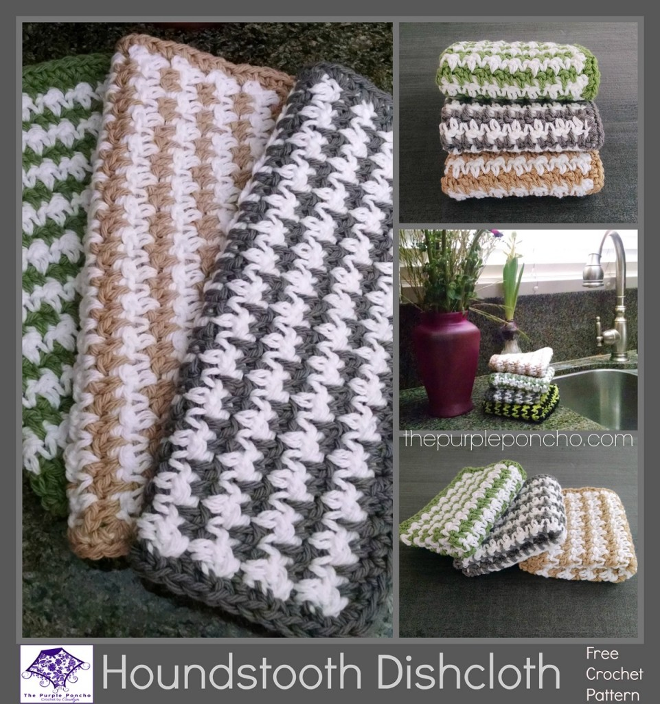 Houndstooth Dishcloth pattern by Carolyn Calderon