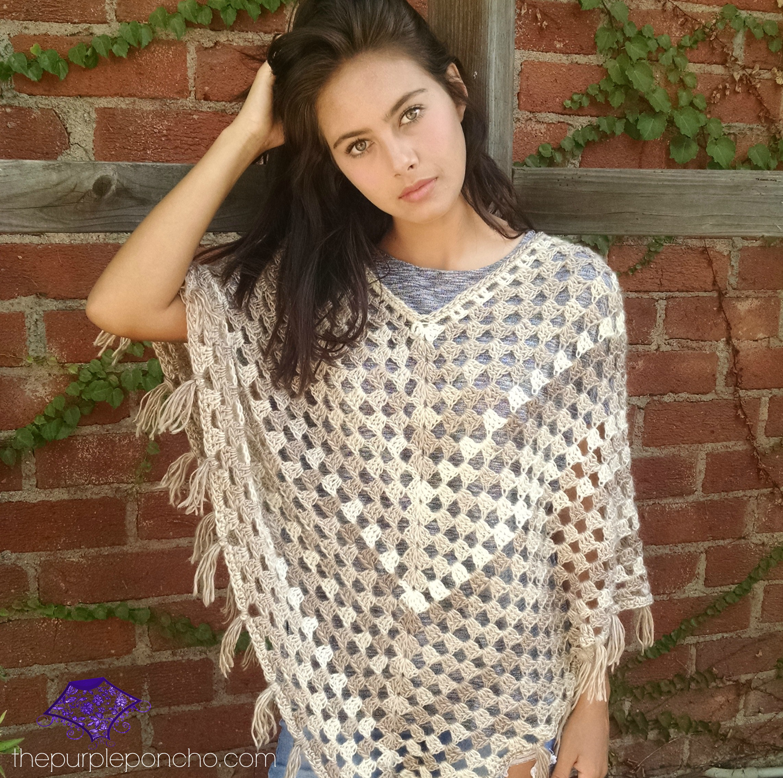 Free Pattern Crochet Poncho