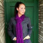 Pineapple Passion Scarf – Crochet Pattern