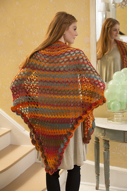 Summer of Love Shawl © Red Heart North America
