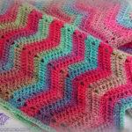 Chevron Super Scarf – Crochet Pattern