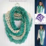 Seamist Infinity Scarf – Crochet Pattern