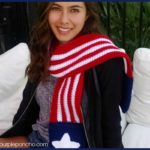 Patriotic Pocket Scarf – Free Crochet Pattern