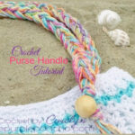 Crochet Purse Handle With Beads And Fringe Tutorial