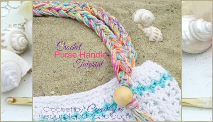 Crochet Purse Handle With Beads And Fringe Tutorial ? The ...