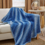 Corner-To-Corner Ombre Throw – Free Crochet Pattern
