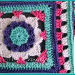 Flower Granny Square – Free Crochet Pattern
