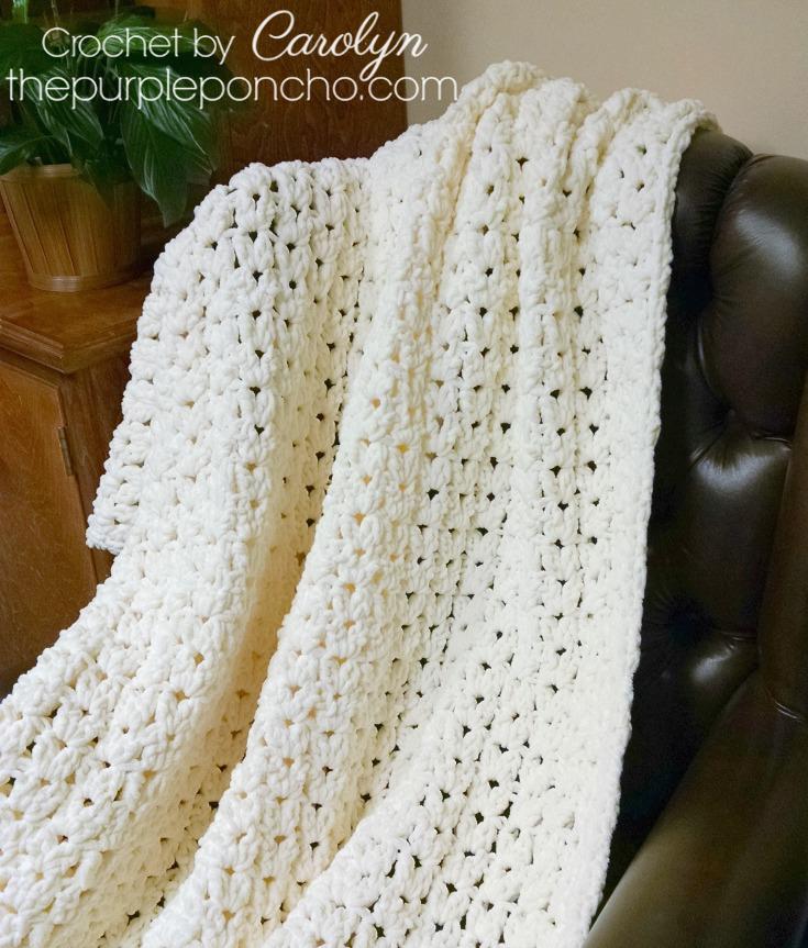 Crocheting Patterns Blanket